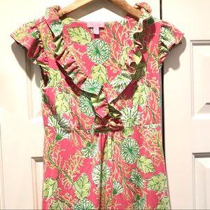 Lilly Pulitzer XS Knit silk/cotton Dress - EUC!!